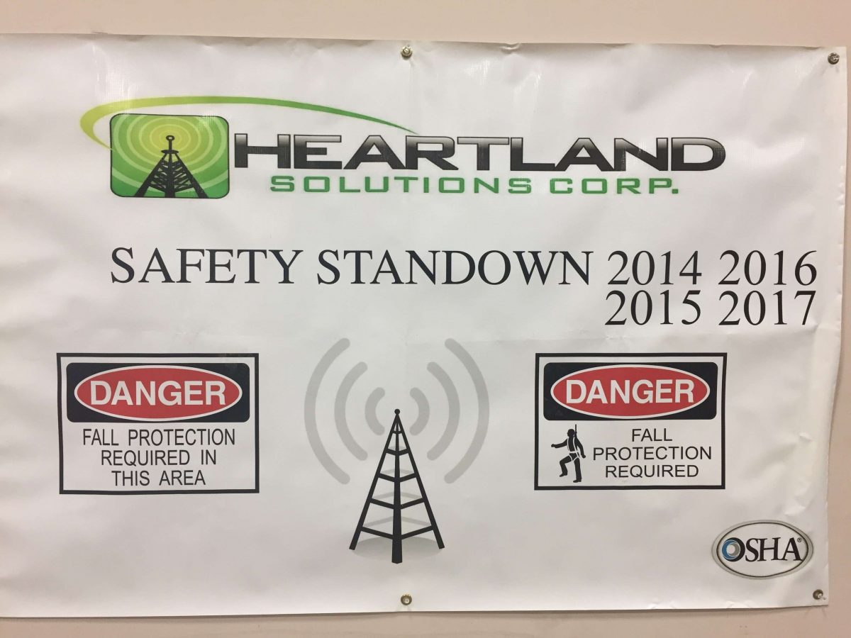 Heartland Solutions Corp Supports National Safety Stand-Down